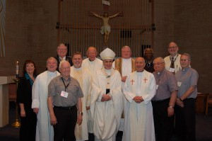 Chaplain George with other airport chaplain across the US
